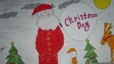 圣诞老人爬烟囱