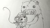 女孩爱大熊