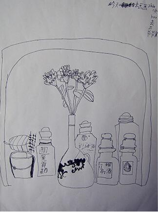 瓶子的世界_起跑线儿童画