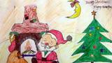 歇息的圣诞老人