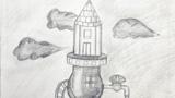 火箭可乐饮水装置