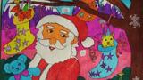 圣诞老人和动物