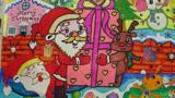 打包礼物圣诞老人