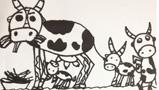 可爱的小奶牛
