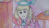 美丽的天使儿童画-美丽善良的天使