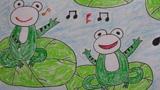 河中的青蛙