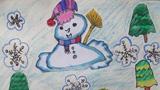 可爱的雪人