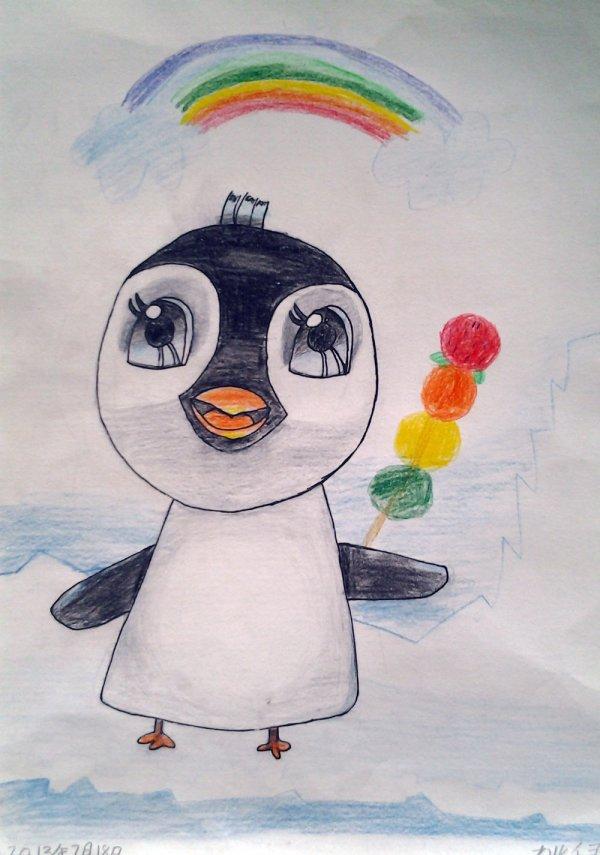 儿童动物画素描