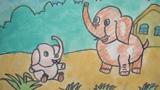小象和妈妈