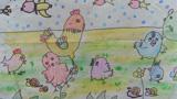 可爱的小鸡们