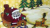 圣诞老人的马车