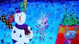 雪人和小白兔的新年