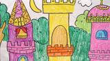 儿童画城堡图片大全-古城堡