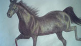 奔驰的骏马