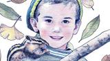 小男孩和小松鼠