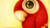 可爱的小鹦鹉
