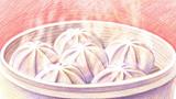 美味的小笼汤包