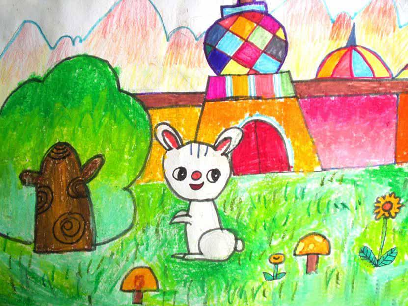 白兔是一种美丽的小动物