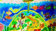 儿童画城堡图片大全-海底城堡