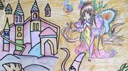 儿童画城堡图片大全-美丽的海底城堡