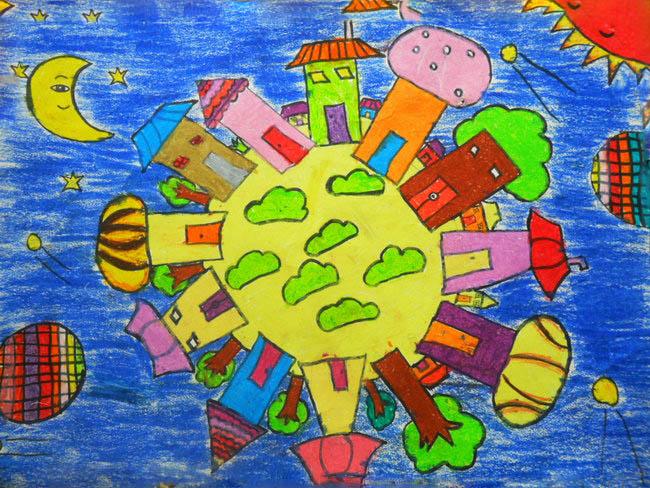 儿童国徽简笔画