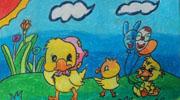 小鸡在寻找春天