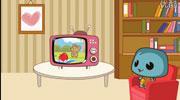爱看电视的途途龟