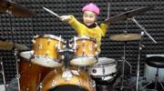 香诺尔架子鼓表演