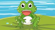爱美的小青蛙