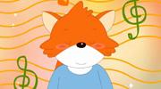 害羞的小狐狸