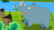 犀牛不生气了