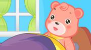爱美的小花熊