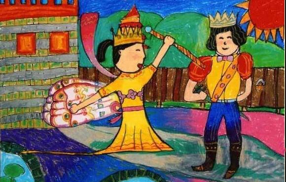 公主与王子图片