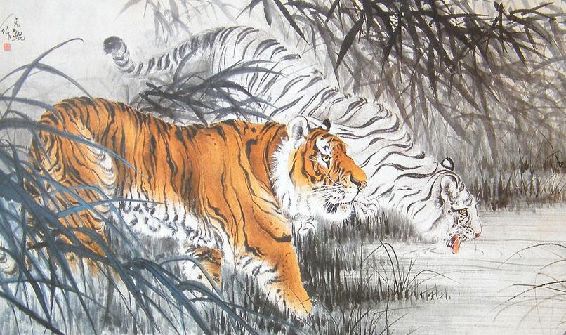 现全世界的动物园里共200多只白虎全是那只野生