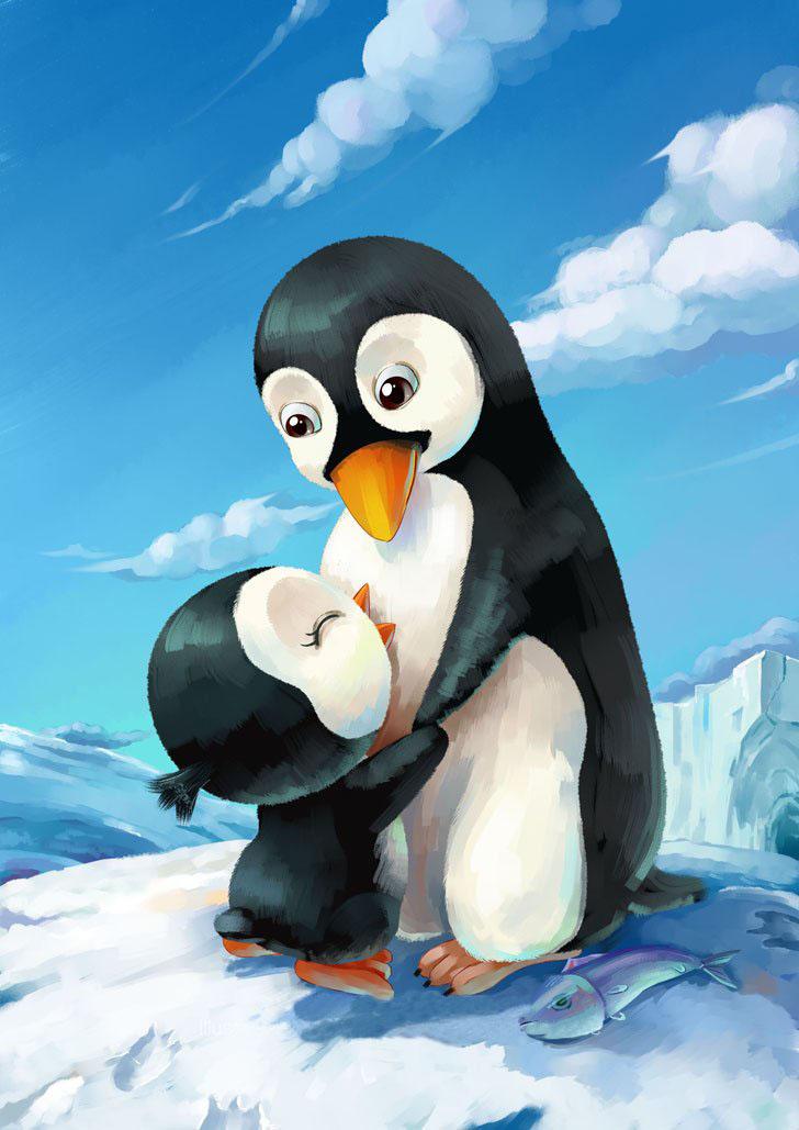 在路上吉他谱小茶扫弦-企鹅主要生活在南半球,已知全世界的企鹅共有17种或18种,多数分布