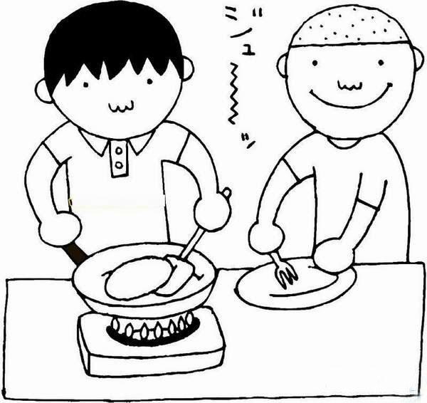 动漫 简笔画 卡通 漫画 手绘 头像 线稿 600_566