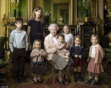 女王生日,这神一般的小女孩抢尽了女王的风头