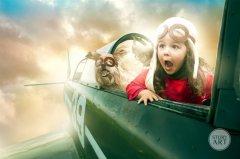 充满梦想的童年摄影欣赏