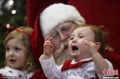 当小朋友遇见圣诞老人