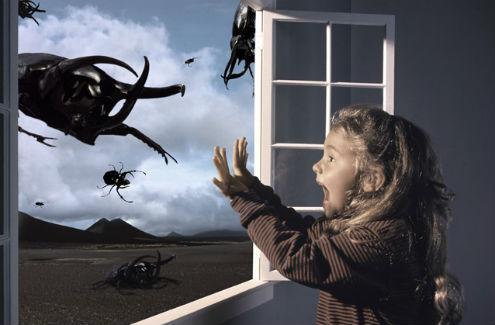 孩子产生恐惧的表现