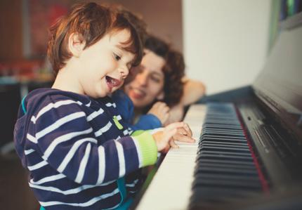 学音乐不一定要成为音乐家 肯定孩子的努力很重要