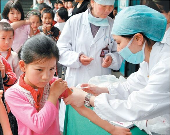 接种卡介苗的方法