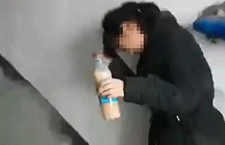 """初中生遭欺凌被逼喝"""""""