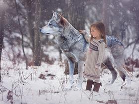 孩子梦想中的童话世界
