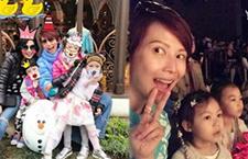 蔡少芬为4岁女儿庆生 好友朱茵前来祝贺