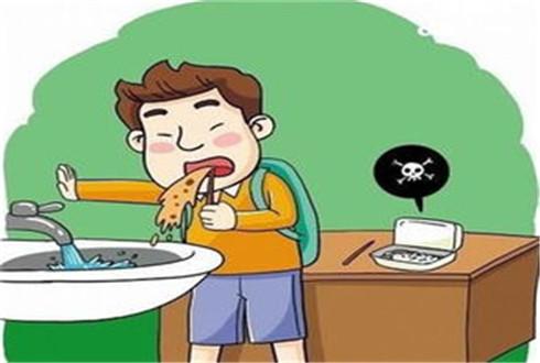 儿童食物中毒出现呕吐等情况怎么办