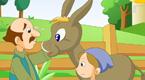 磨坊主和儿子与驴