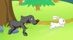 兔子和猎狗