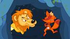 狮子、狐狸与鹿