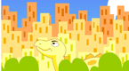 城里来了大恐龙